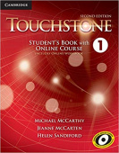 Touchstone 2nd edition 1 Student's Book with Online Course