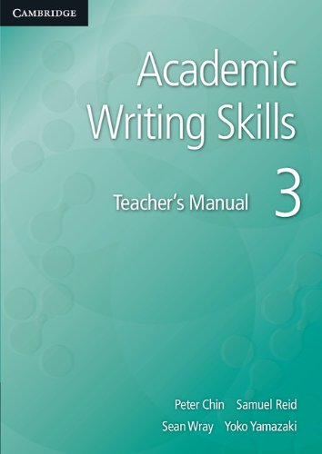 Academic Writing Skills 3 Teacher's Manual