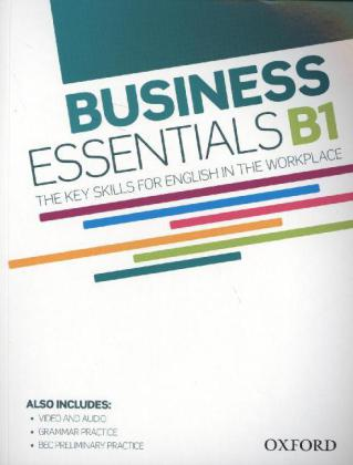 Business Essentials B1 Student's Book with DVD and Audio Pack