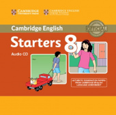 Cambridge Young Learners English Tests 8 Starters Audio CD