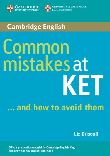 Common Mistakes at KET ... and how to avoid them Paperback