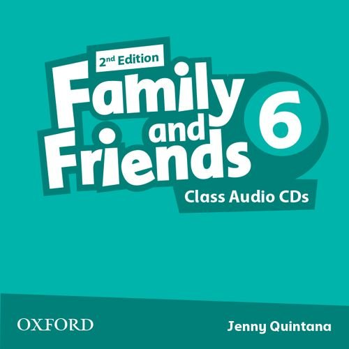 Family and Friends Second Edition 6 Class Audio CD's (2)