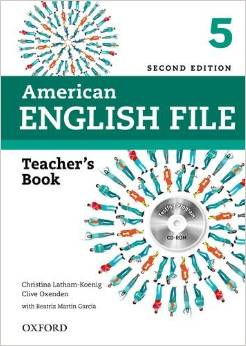 American English File Second edition Level 5 Teacher's Book with Testing Program CD-ROM