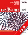 New English File Elementary Workbook (without key) with MultiROM Pack
