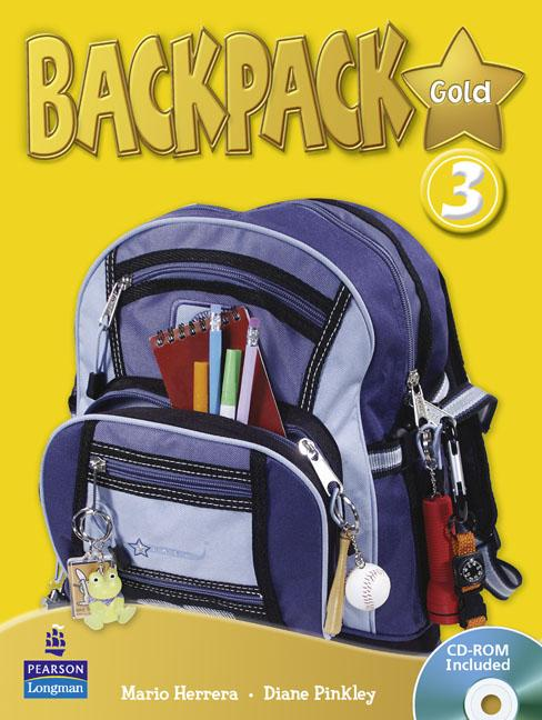 Backpack Gold Level 3 Students' Book (with CD-ROM)