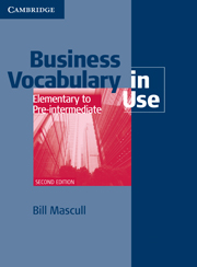 Business Vocabulary in Use: Elementary to Pre-intermediate (Second Edition) Book with answers