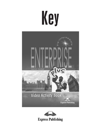 Enterprise Plus  Video Activity Book Key