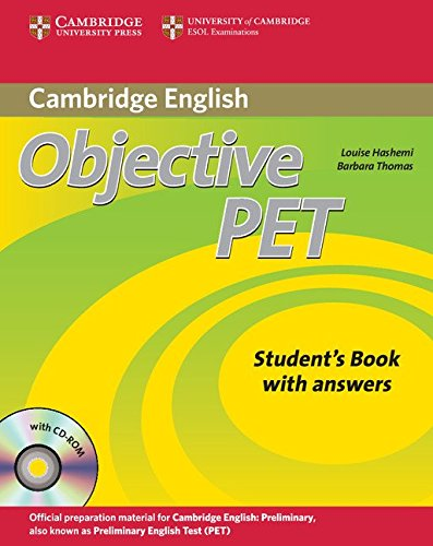 Objective PET 2nd Edition Self-study Pack (Student's Book with answers with CD-ROM and Audio CDs(3)
