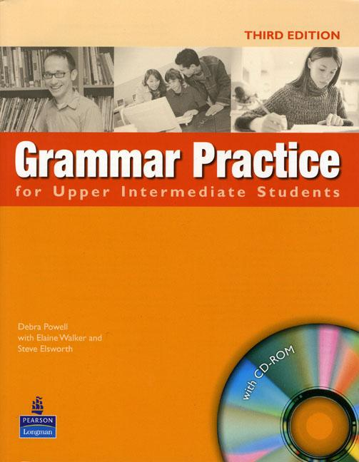 Grammar Practice Third Edition Upper Intermediate Book and CD-ROM (without Key)