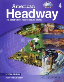 American Headway Second Edition 4 Student Book with Student Practice MultiROM