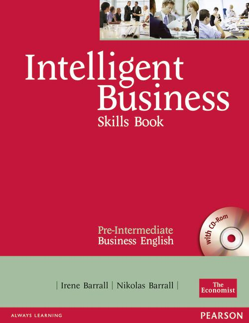 Intelligent Business Pre-intermediate Skills Book with CD-ROM