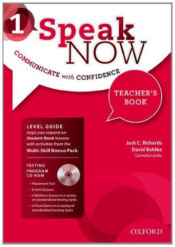 Speak Now 1 Teacher's Book with Testing CD-ROM and Online Practice