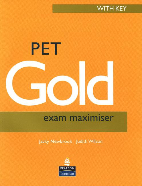 PET Gold Exam Maximiser (with Key) and Audio CD Pk