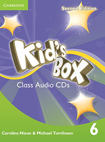 Kid's Box Second Edition 6 Class Audio CDs (4) (Лицензия)