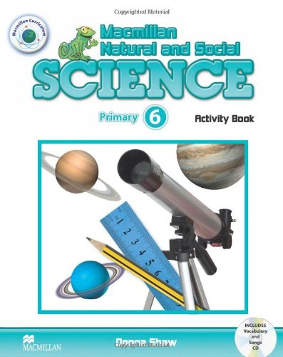 Macmillan Natural and Social Science 6 Activity Book Pack