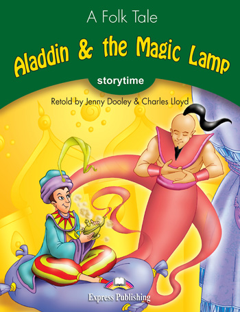 Stage 3 - Aladdin & the Magic Lamp Audio CD