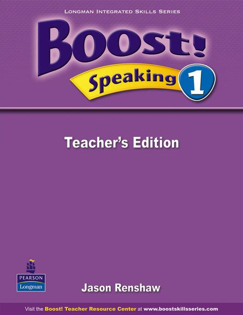 Boost Speaking 1 Teacher's Edition
