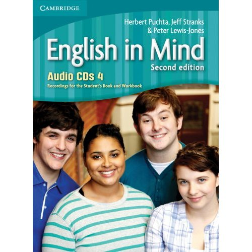 English in Mind (Second Edition) 4 Audio CDs (4) (Лицензия)