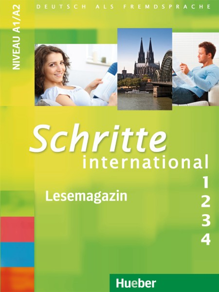 Schritte international 1-4 Lesemagazin