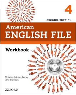 American English File Second edition Level 4 Workbook with iChecker