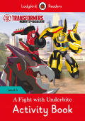 Ladybird: Transformers: A Fight with Underbite Activity Book