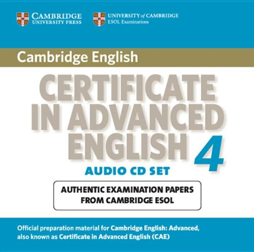 Cambridge Certificate in Advanced English 4 for updated exam Audio CDs (2)