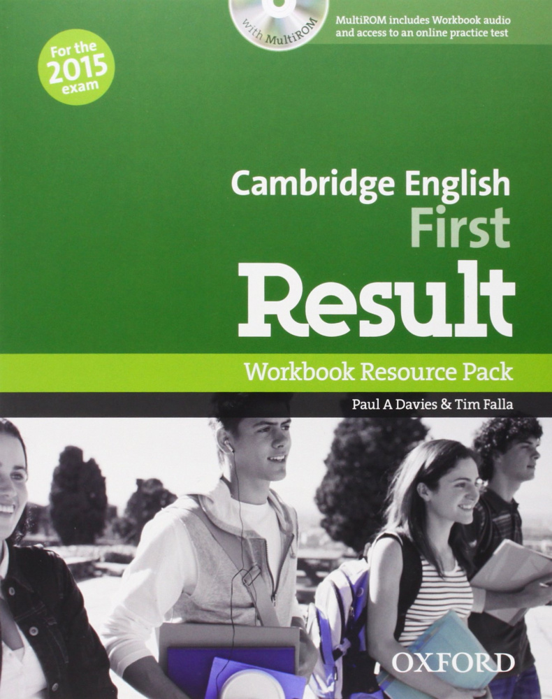 Cambridge English First Result Workbook Resource Pack without Key