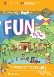 Fun for Starters 3rd Edition Presentation Plus DVD-ROM