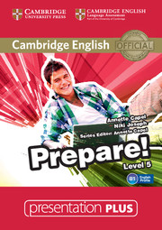 Cambridge English Prepare! Level 5 Presentation Plus DVD-ROM