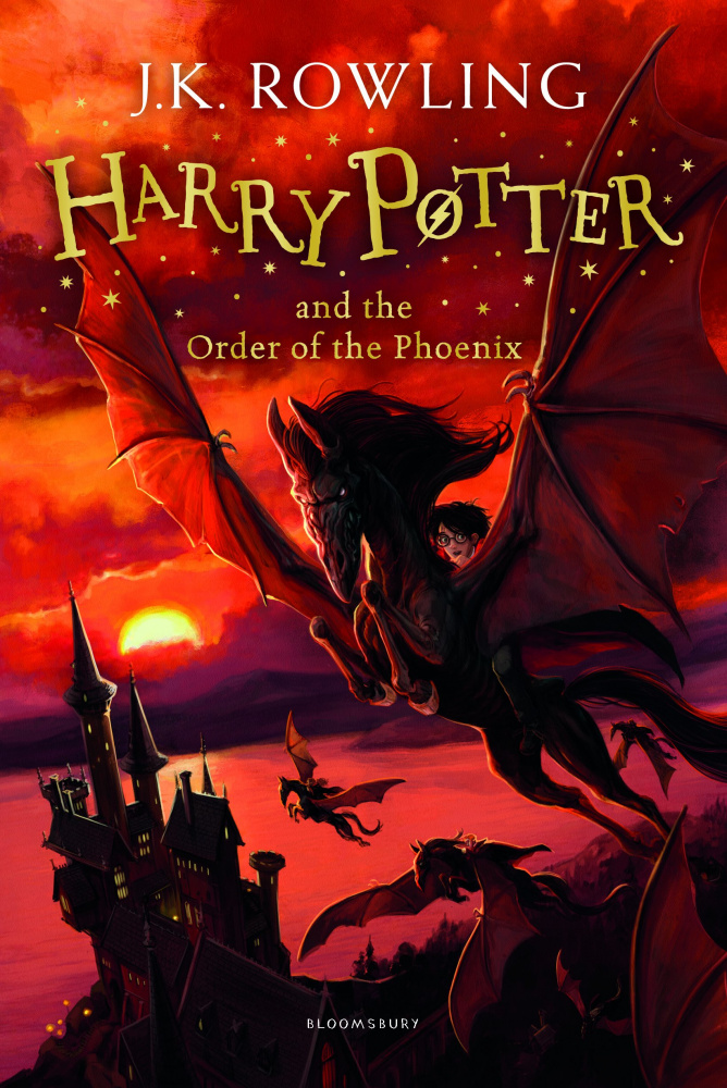 Harry Potter and the Order of the Phoenix (Book 5) - Hardcover