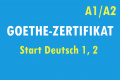 Goethe-Zertifikat A1/A2: Start Deutsch 1,2