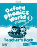 Oxford Phonics World 1 Teacher's Pack with Classroom Presentation Tool