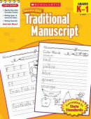 Scholastic Success with Traditional Manuscript, Grades K-1