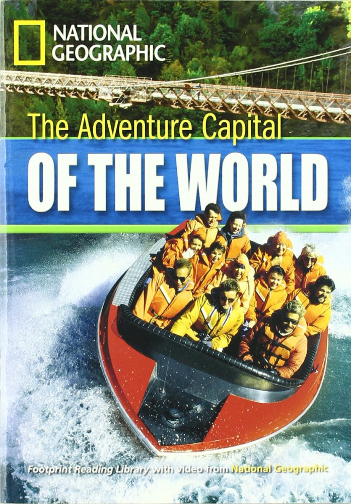 Fotoprint Reading Library B1 The Adventure Capital of the World with CD-ROM
