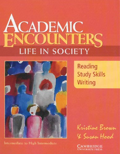 Academic Encounters: Life in Society - Reading Student's Book