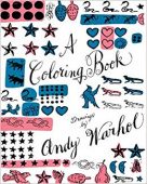 Coloring Book: Drawings by Andy Warhol