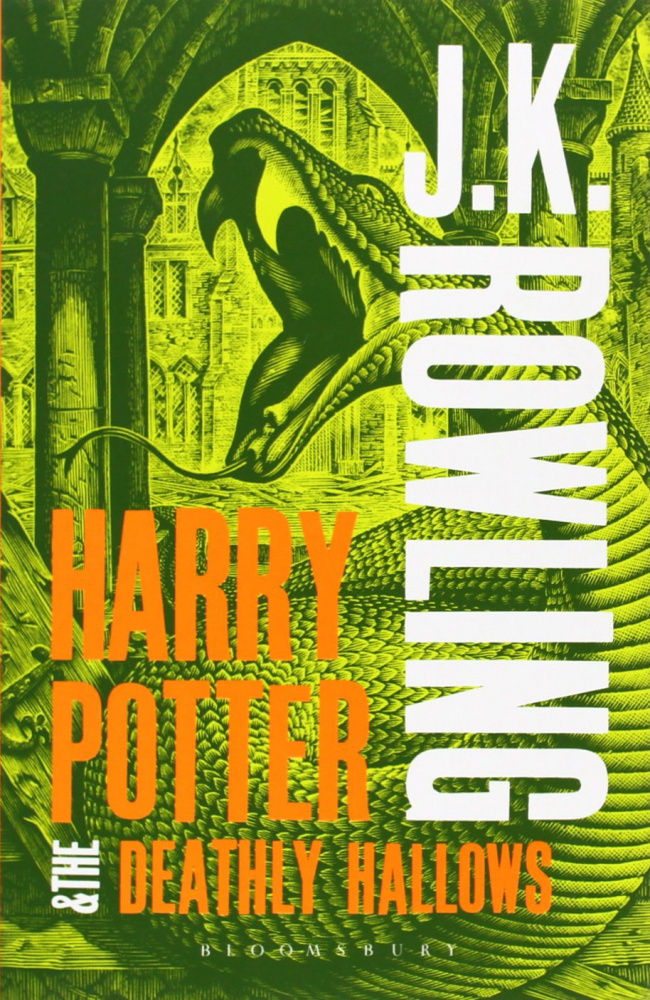 Harry Potter and the Deathly Hallows (Book 7) - Adult Cover