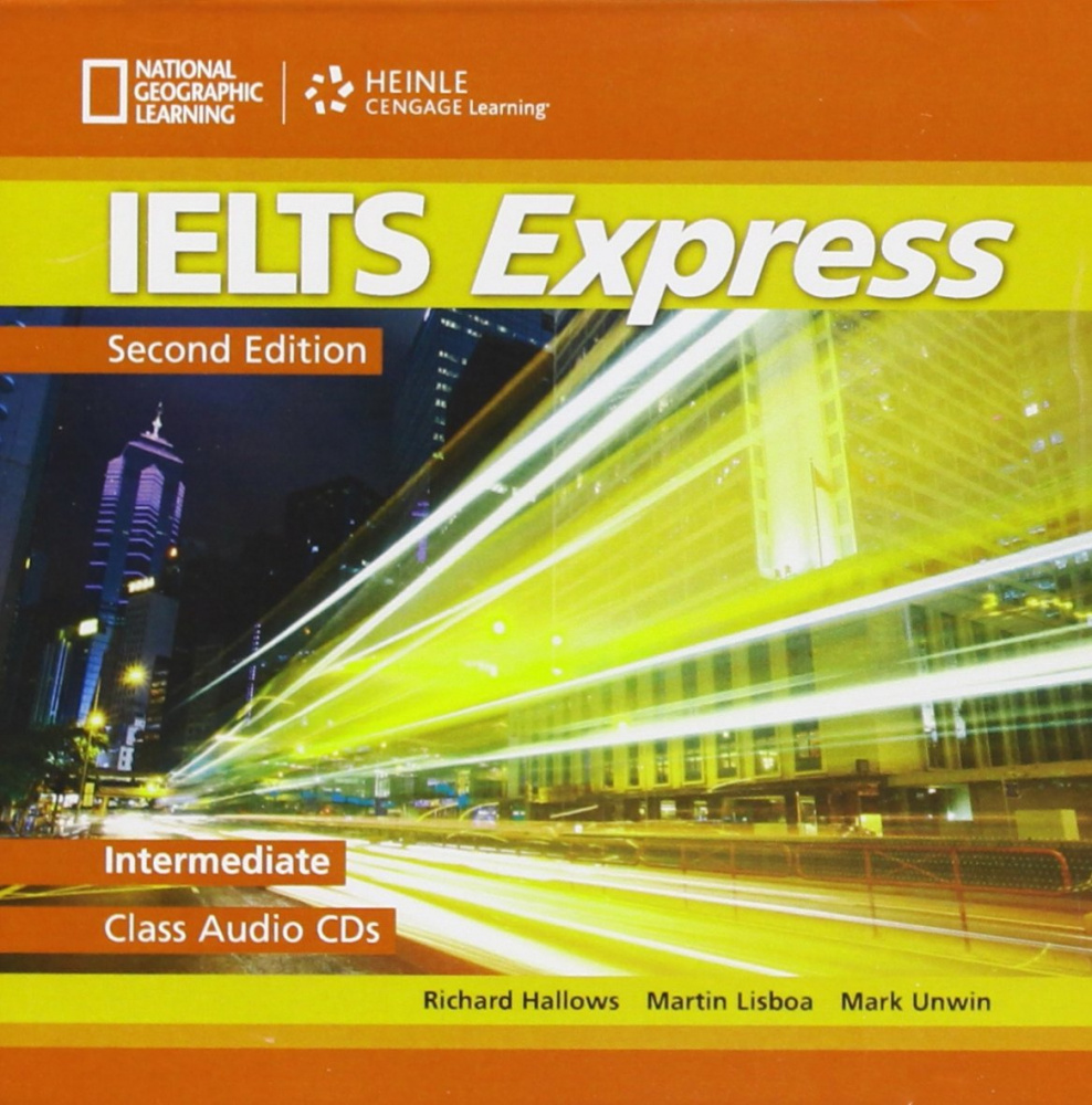 IELTS Express Second Edition Intermediate Class Audio CD (2)