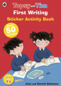 Ladybird: Topsy and Tim: First Writing (sticker book)