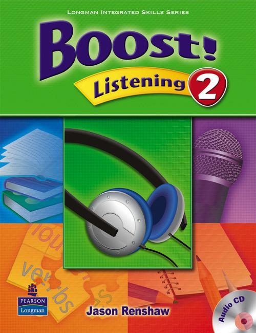 Boost Listening 2 Student's Book with Audio CD