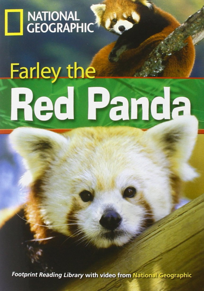 Fotoprint Reading Library A2 Farley the Red Panda with CD-ROM