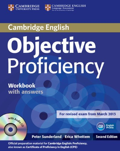 Objective Proficiency (Second Edition) Workbook with Answers with Audio CD
