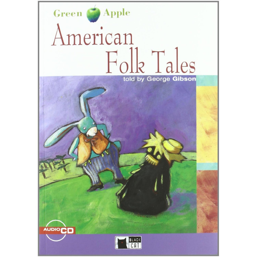 Green Apple Starter:  American Folk Tales with Audio CD