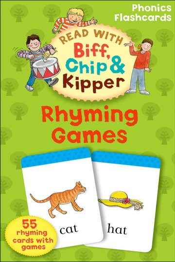 Rhyming Games (Read with Biff, Chip and Kipper: Phonics Flashcards) Карточки (55)