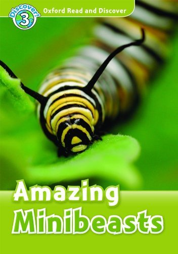 Oxford Read and Discover Level 3 Amazing Minibeasts Audio CD Pack