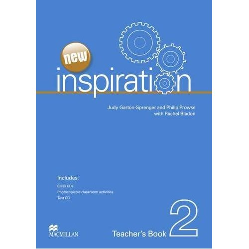 New Inspiration 2 Teacher's Book & Test CD & Class Audio CD Pack