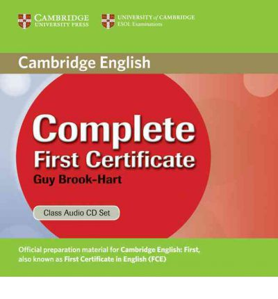 Complete First Certificate Class Audio CDs (3)