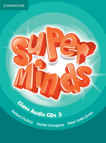 Super Minds Level 3 Class Audio CDs (3) (Лицензия)