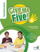 Give Me Five! 4 Teacher's Book Pack