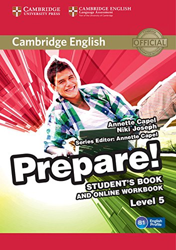 Cambridge English Prepare! Level 5 Student's Book and Online Workbook